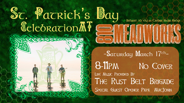 Rust Belt St Patricks Day Banner