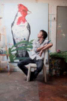 Martin Lapalma at his studio