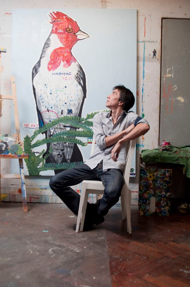 Martin Lapalma at his studio