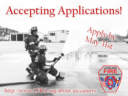 Loveland Fire and Rescue Authority is Hiring!