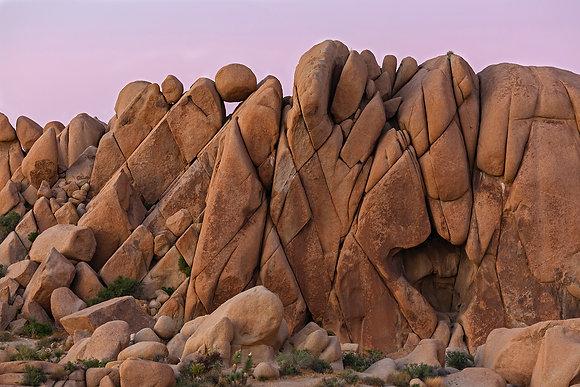 Jumbo Rocks Alpenglow