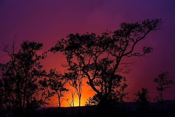 Halema'uma'u Crater Glow