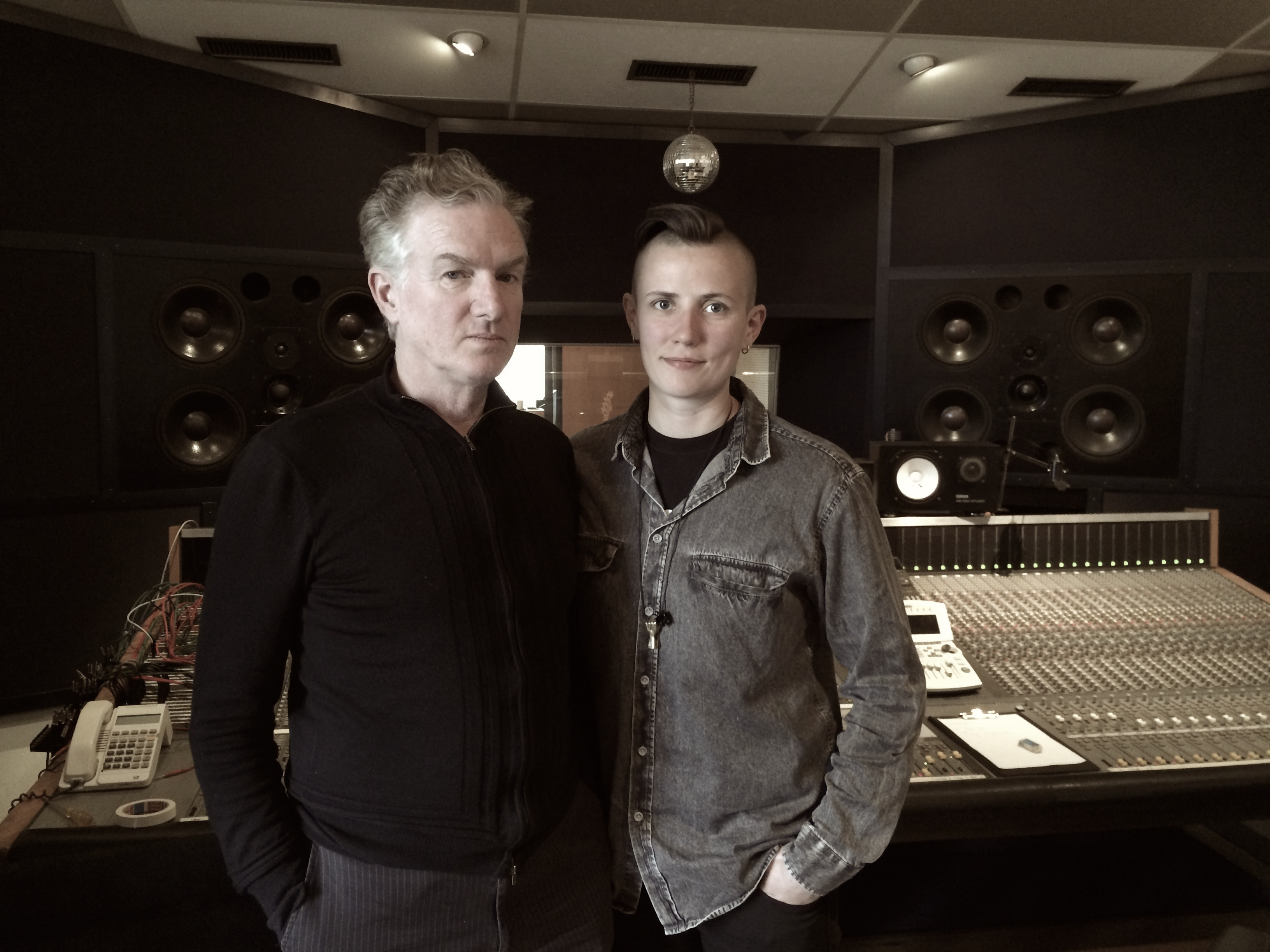Recording with Mick Harvey