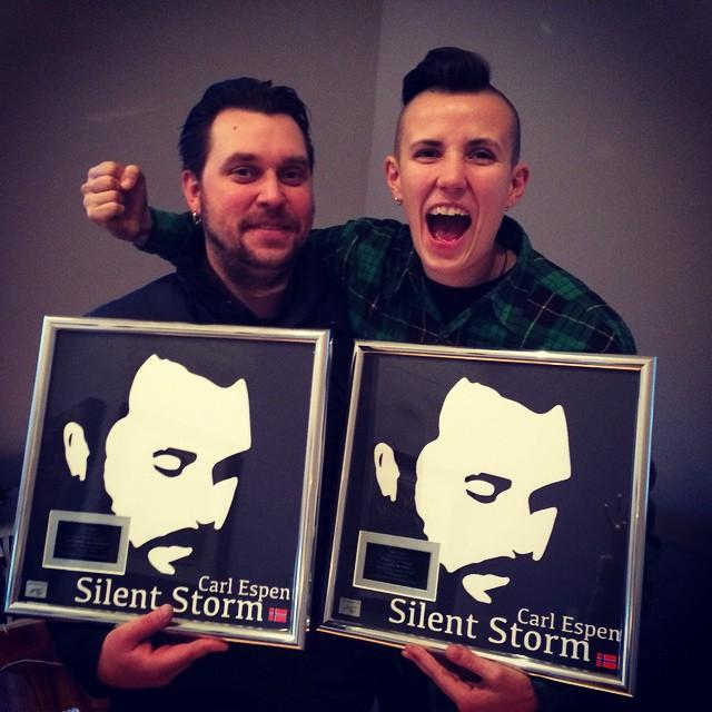 "Platinum for ""Silent Storm"""