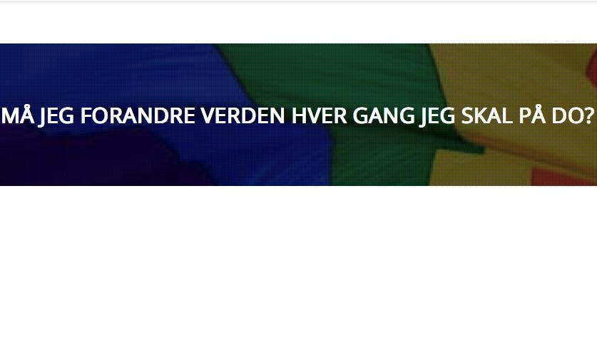 Josefin blogging for Oslo Pride 2015