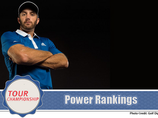 Tour Championship - Power Rankings