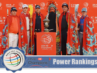 HSBC Champions - Power Rankings