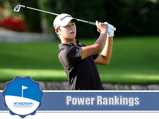 Wyndham Championship - Power Rankings