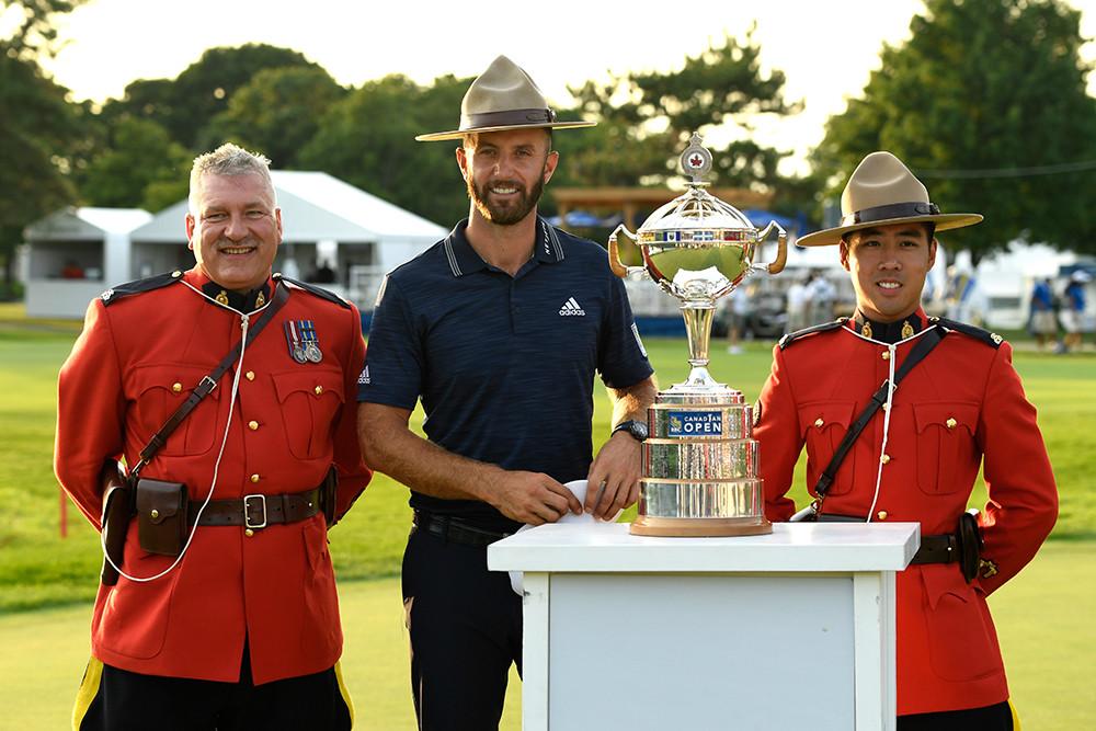 Dustin Johnson. Photo credit: Golf Canada