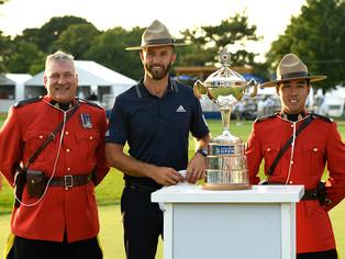 Dustin Johnson Wins 2018 RBC Canadian Open