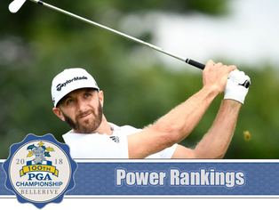 PGA Championship - Power Rankings