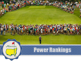 The Masters - Power Rankings