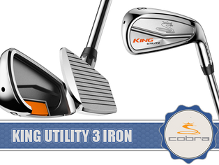 Cobra Golf Announces an All-New, High-Performance King Utility 3 Iron