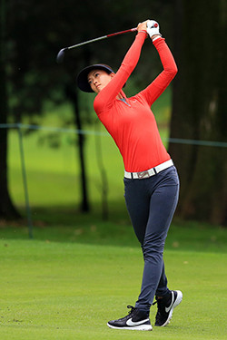 American drawcard Michelle Wie will join a top-class field at the Women's Australian Open in Adelaide from February 16-19. Picture: Getty Images.
