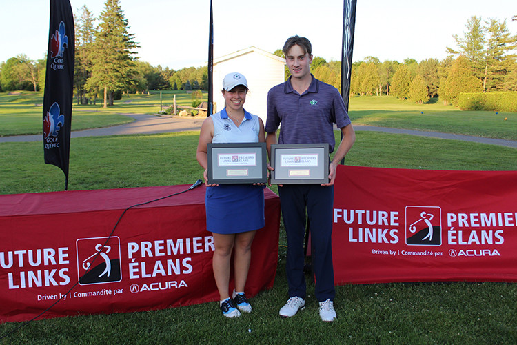 Robbie Latter & Emily Romancew. Photo credit: Golf Canada