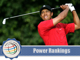 WGC - Bridgestone Invitational - Power Rankings