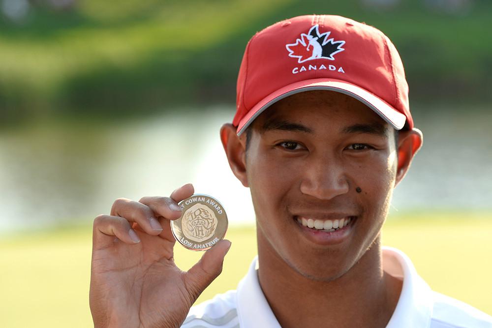 Chris Crisologo. Photo credit: Golf Canada