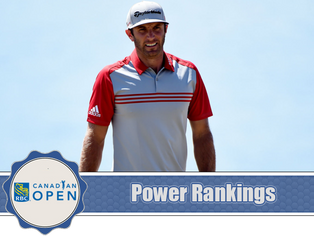 RBC Canadian Open - Power Rankings