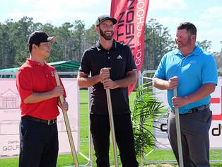 World No. 1 Breaks Ground On Dustin Johnson Golf Performance Center at TPC Myrtle Beach