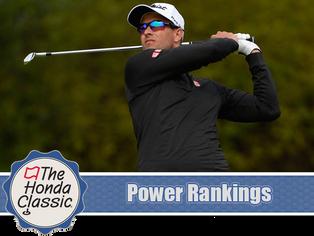 Honda Classic - Power Rankings