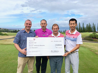 Kapalua Golf Donates $10,000 to Habitat for Huanity in Support of West Maui Relief Efforts
