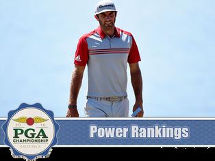 PGA Championship - Power Rankings
