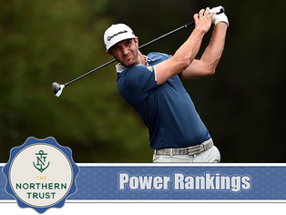 The Northern Trust - Power Rankings