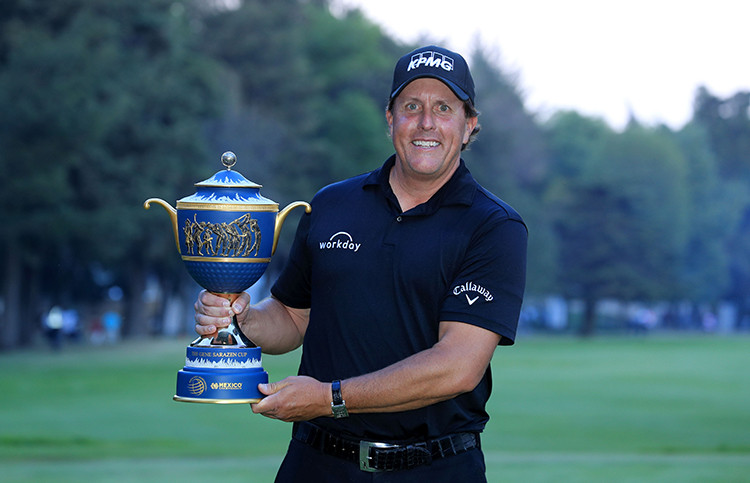 Phil Mickelson. Photo Credit: Getty Images