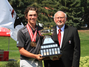 Vandette Makes Historic Run to Win Both Divisions at Canadian Junior Boys Championship