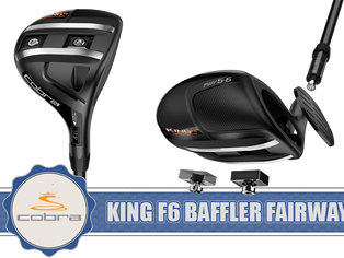 Cobra Golf Introduced King F6 Baffler Fairway