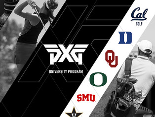 PXG Introduces New University Program Supporting Men's & Women's Golf Teams