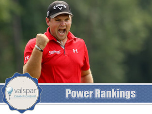 Valspar Championship - Power Rankings