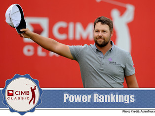 CIMB Classic - Power Rankings