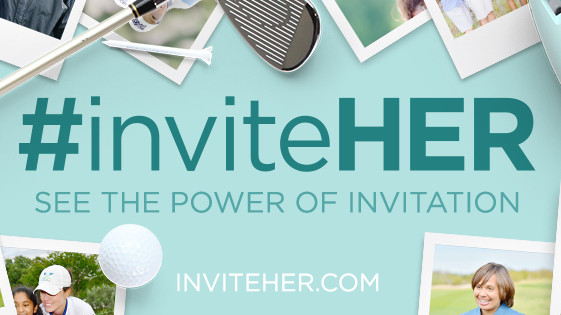 U.S. Golf Industry Unites to Launch #inviteHER Campaign