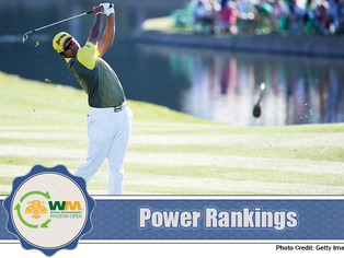 Waste Management Phoenix Open - Power Rankings