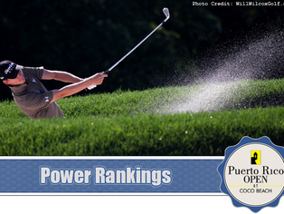 Puerto Rico Open - Power Rankings