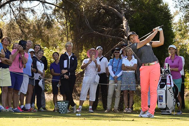 Brooke Henderson. Photo credit: Golf Australia
