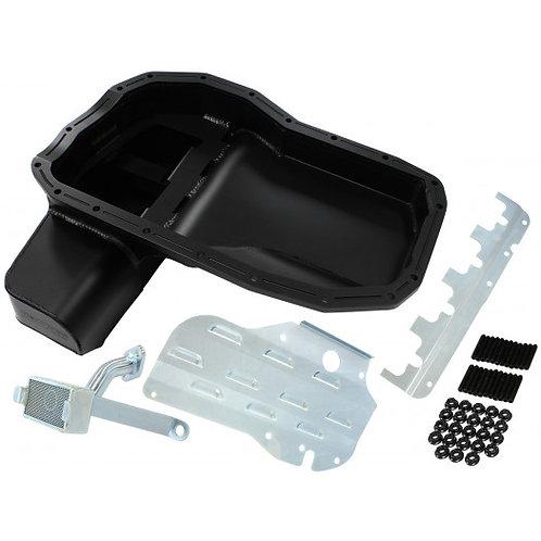 Fabricated Race Oil Pan - Mitsubishi EVO 4-9, 6.1L With Crank Scraper, Baffle &