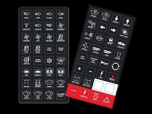 MOTECH 15 Button CAN Keypad