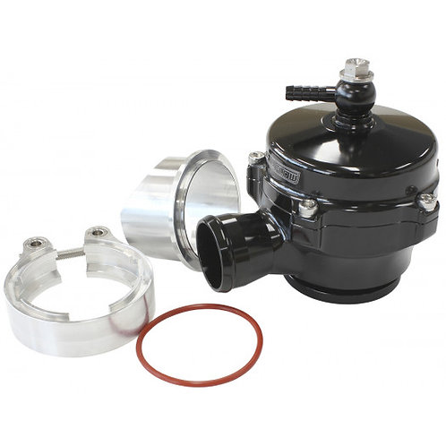 50mm High Flow Blow Off Valve with V-Band -Black Finish