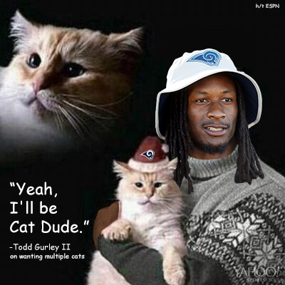 Gurley Cat Quote