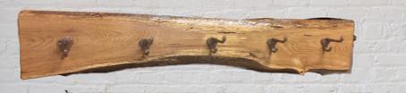 Oak Coat Hanger