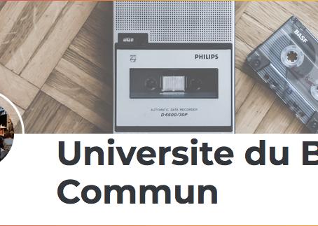 Communs et biens communs : les podcasts de l'Université du bien commun à Paris