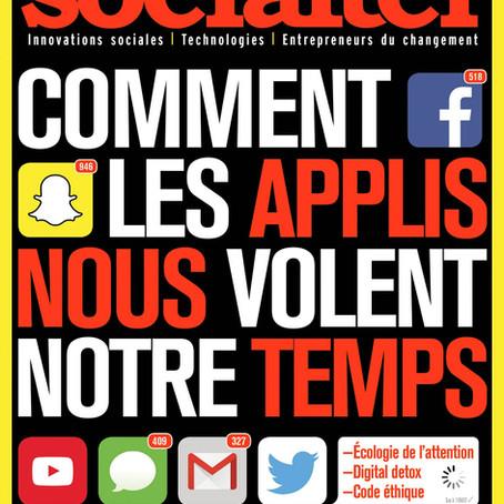 Conseil de lecture turbinesque #2 :  Socialter, le magazine de la transition