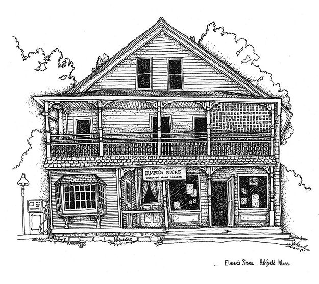 Drawing of Elmer's Front Best one to Use