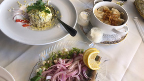 A meal in Brooklyn