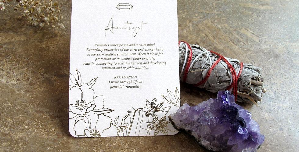 Amethyst Gift Box