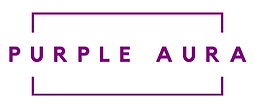 Purple Aura Business Images Logo