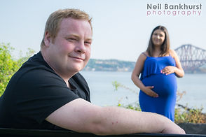 Husband and Wife Pregnancy Photo