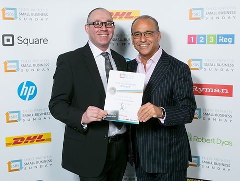 Neil Bankhurst Photography - Theo Paphitis - #SBS - Twitter - Portraits, Weddings, Training, Corporate.
